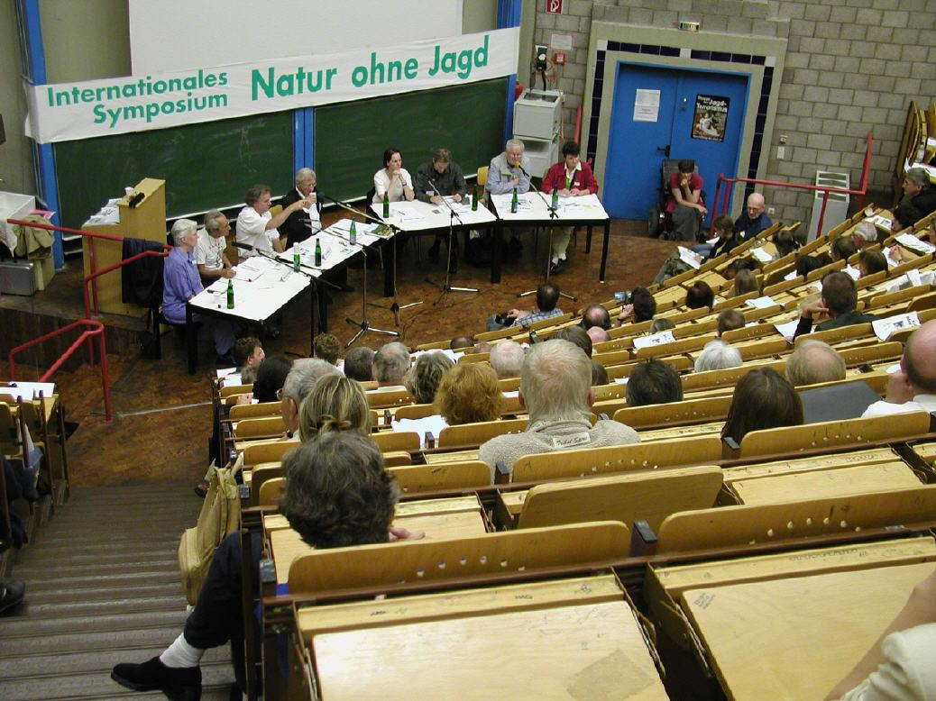 Podiumsdiskussion in der Berliner Universität